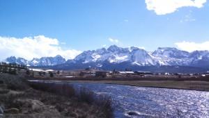 Stanley Idaho April 2012