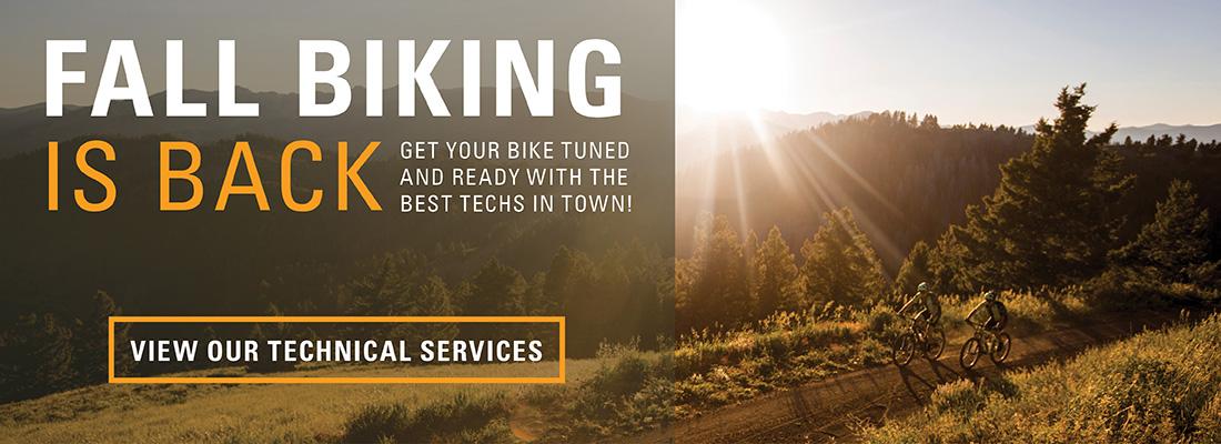 Fall Biking Email Slider SM2