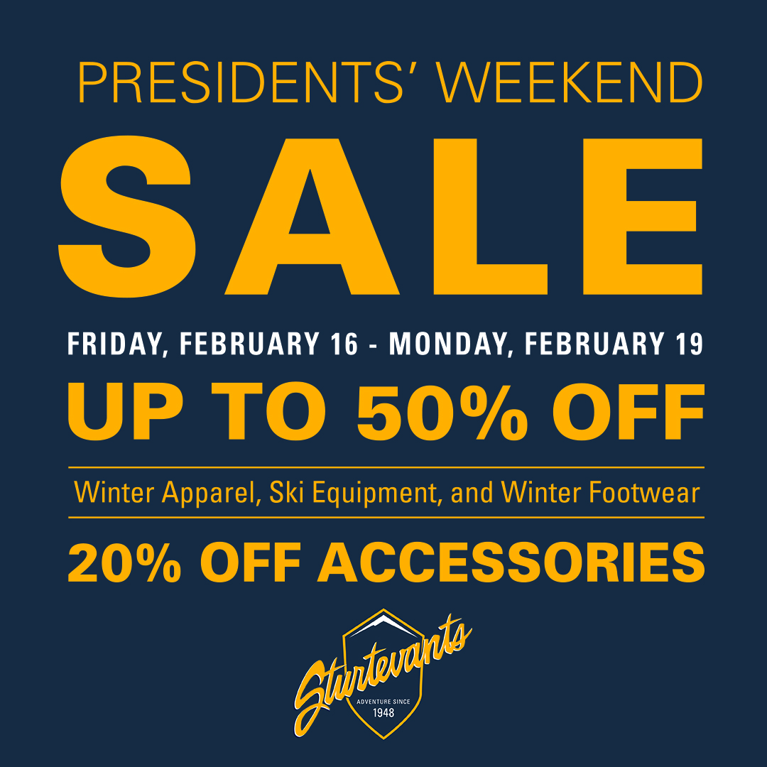 President S Day Sale: President's Day Weekend Sale!